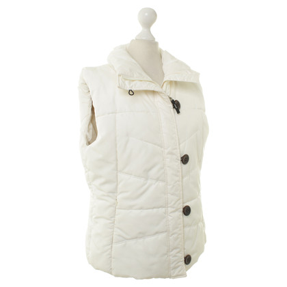 Bogner Steppweste in Creme