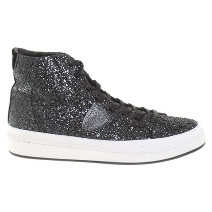 Philippe Model Sneakers with glitter trim
