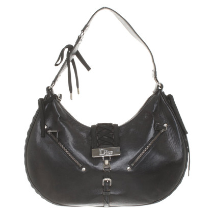 Christian Dior Hobo Bag in zwart