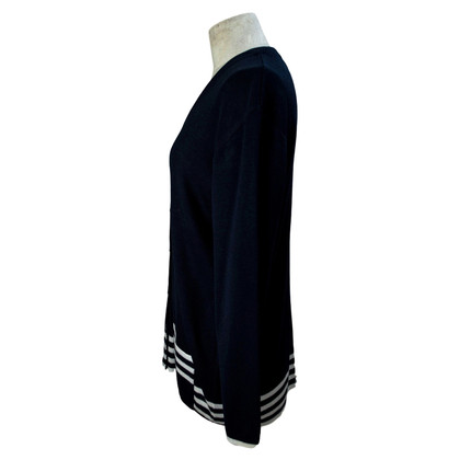 Fendi Fendi Pure Wool Blue Cardigan
