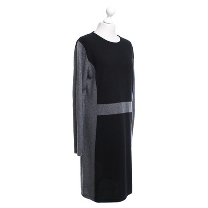 Allude Cashmere dress in bicolor