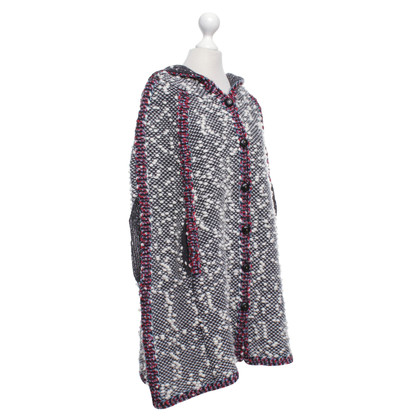 See by Chloé Cape mit Strick-Muster
