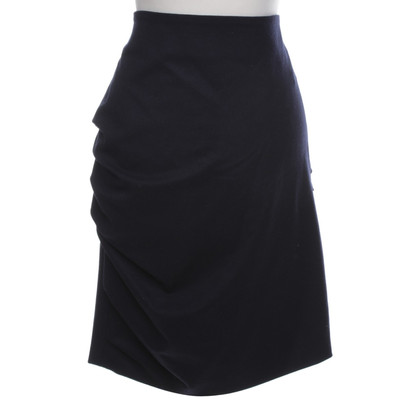 Brunello Cucinelli skirt in dark blue