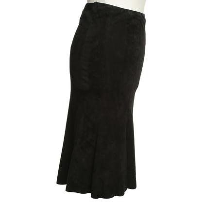 Ralph Lauren skirt Suede