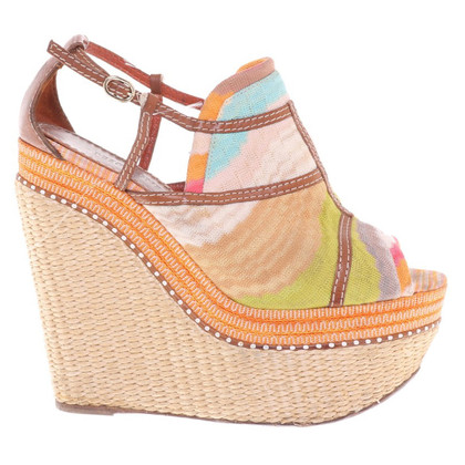 Missoni Wedges in multicolor