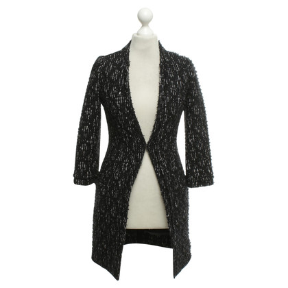 Jay Ahr Coat in black and white