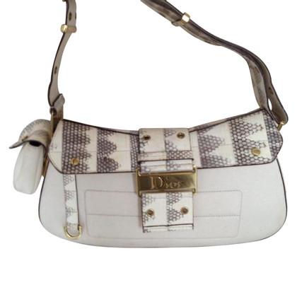 Christian Dior Handtasche mit Reptilprint