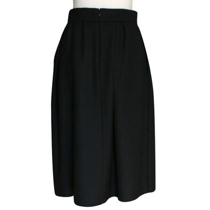 Cos Black Midi skirt