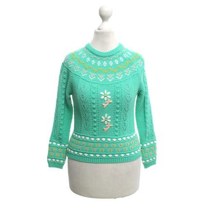 Missoni Sweater in mint green