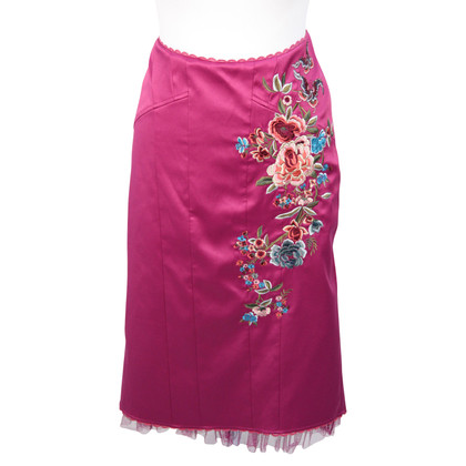 Karen Millen skirt with floral embroidery