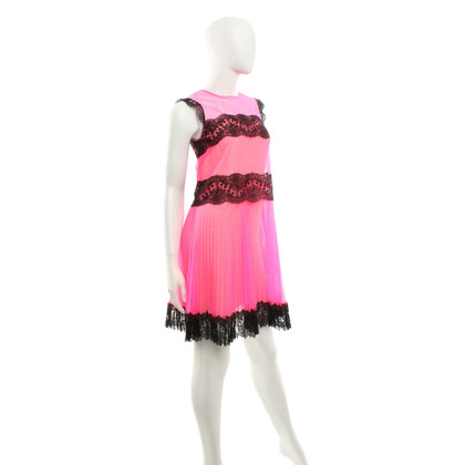 Christopher Kane Neon colored tulle dress