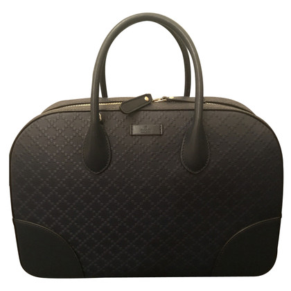 Gucci Diamante Leather Top Handle Bag