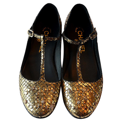 Chanel Salome Ballet Flats
