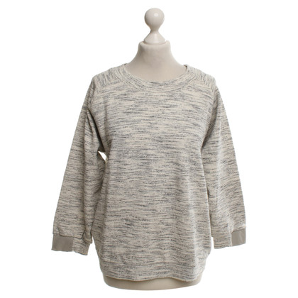 Humanoid Sweatshirt in Cream / grey