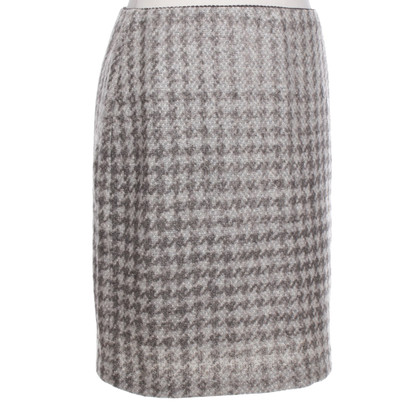 Marc Cain skirt with pepita pattern