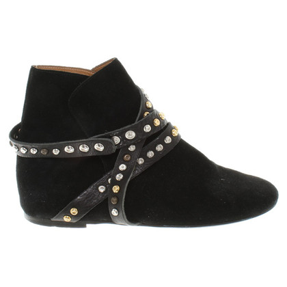Isabel Marant Etoile Ankle boots with decorative bar