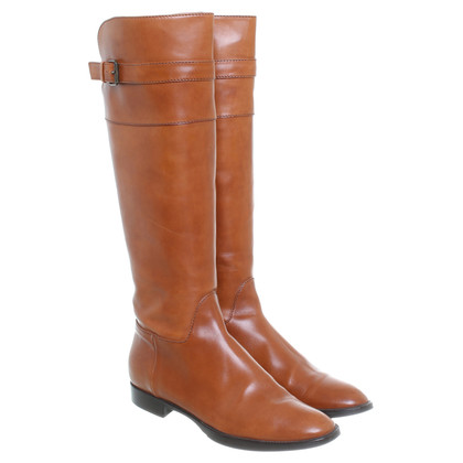 Pollini Boot in brown leather
