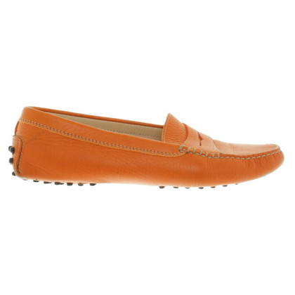 Tod's Loafer a Orange