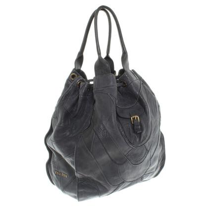 Miu Miu Leather shopper
