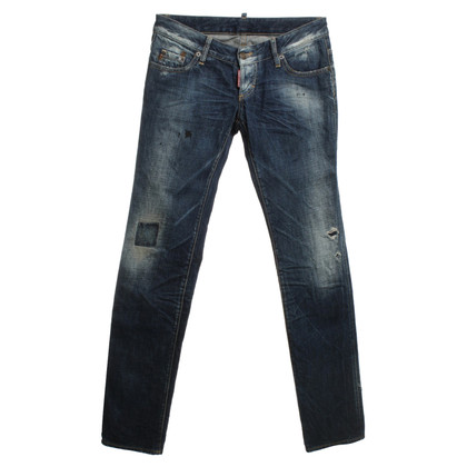 Dsquared2 Jeans à Used Look