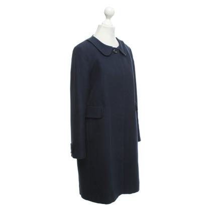 See by Chloé Coat in dark blue