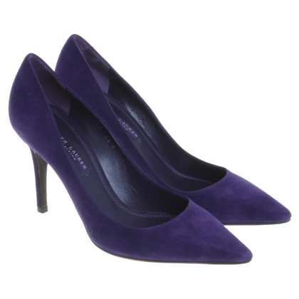 Ralph Lauren pumps paars