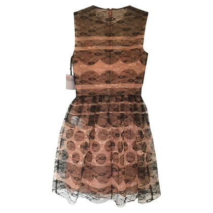 Red Valentino lace dress