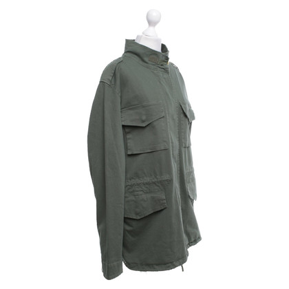 Camouflage Couture Jacket in olive