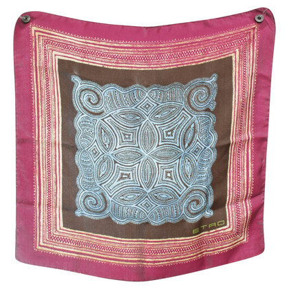 Etro Small silk scarf