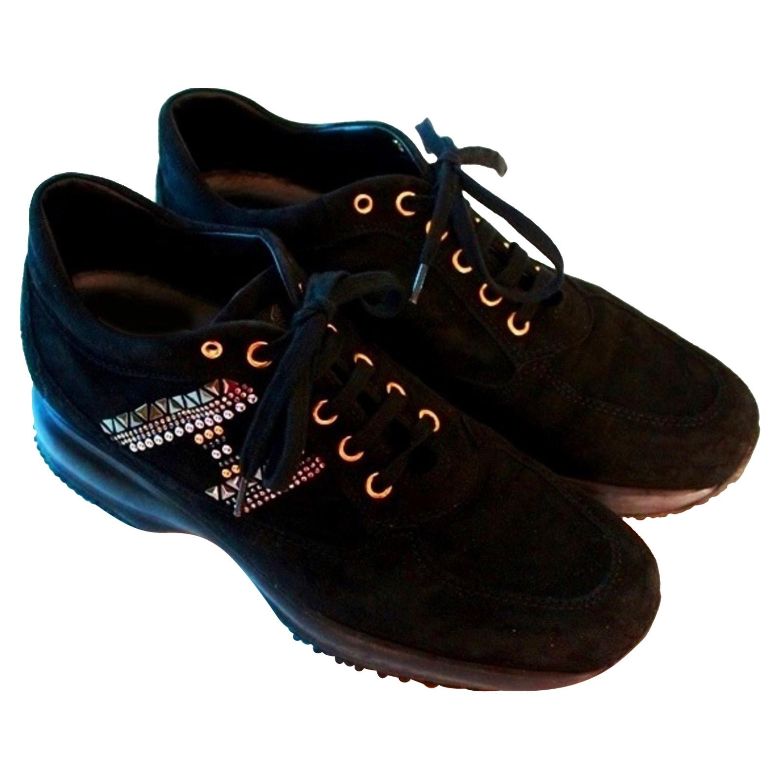 Hogan scarpe da ginnastica Plateau - Second hand Hogan scarpe da ...