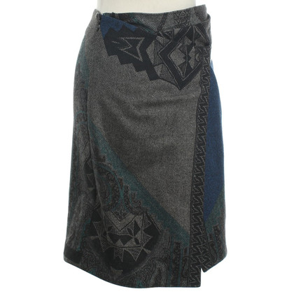 Etro Mooner skirt with pattern print