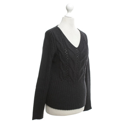 Max Mara maglione maglia in antracite