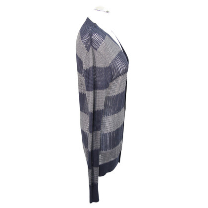 All Saints Cardigan with stripes pattern