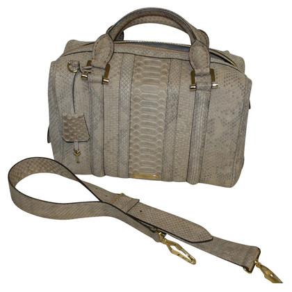 Burberry Prorsum Python Bowling Bag