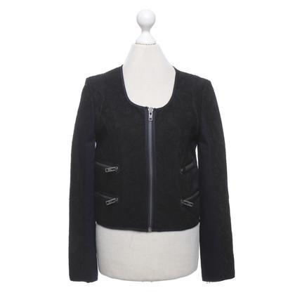 Victoria Beckham Denim jacket in blue / black