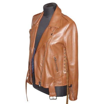 3.1 Phillip Lim Leather jacket with lacing