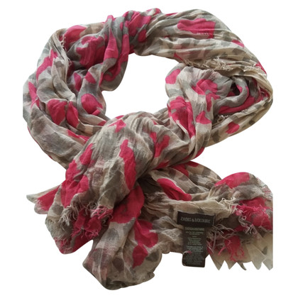 Zadig & Voltaire Scarf with pattern