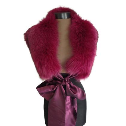 Ella Singh Fox fuchsia scarf