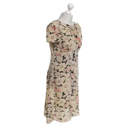 Tara Jarmon Seidenkleid mit Muster