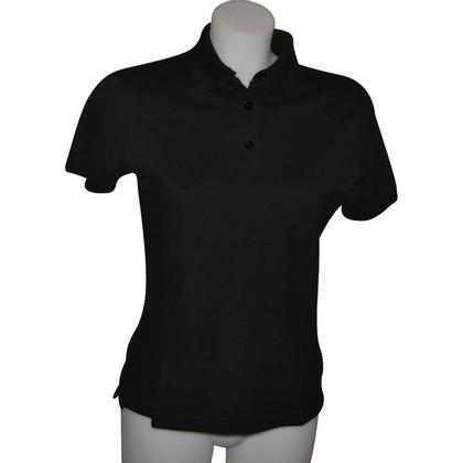 Hermès Schwarzes Polohemd
