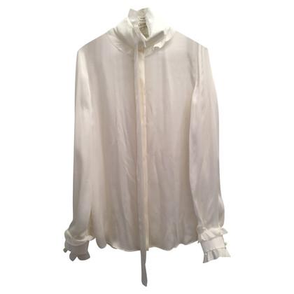 Emilio Pucci Silk blouse in white