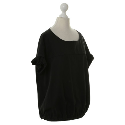 Marni Top in Schwarz