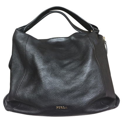 Furla Leather handbag in black