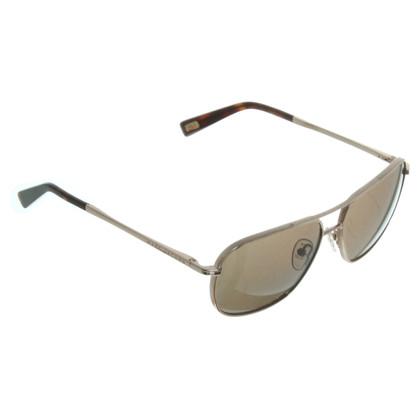 Marc Jacobs Sonnenbrille mit goldfarbenem Rahmen