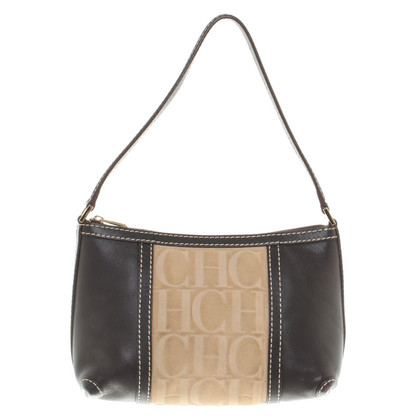 Carolina Herrera borsa in pelle