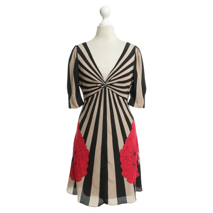 Temperley London Kleid mit Mustermix