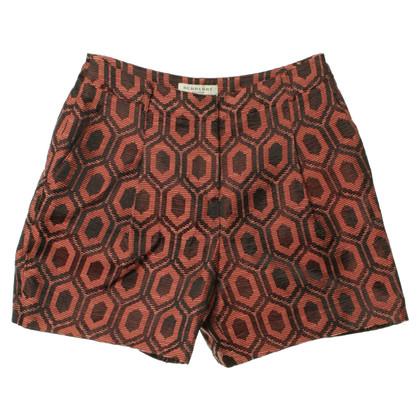 Burberry High-Waist Shorts