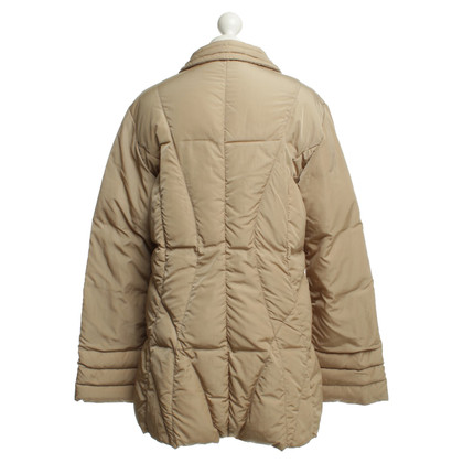 Moncler Down coat in beige