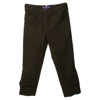 Ralph Lauren Tweed pants with side buttons