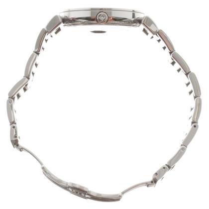 Salvatore Ferragamo Silberfarbene Armbanduhr